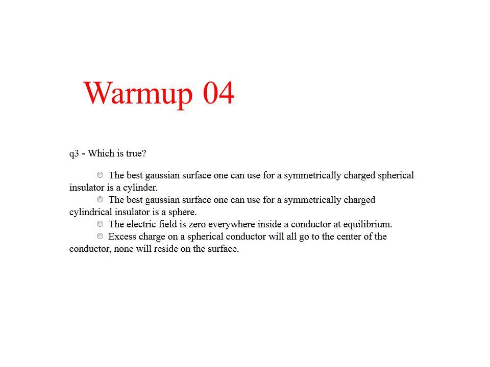 Warmup 04