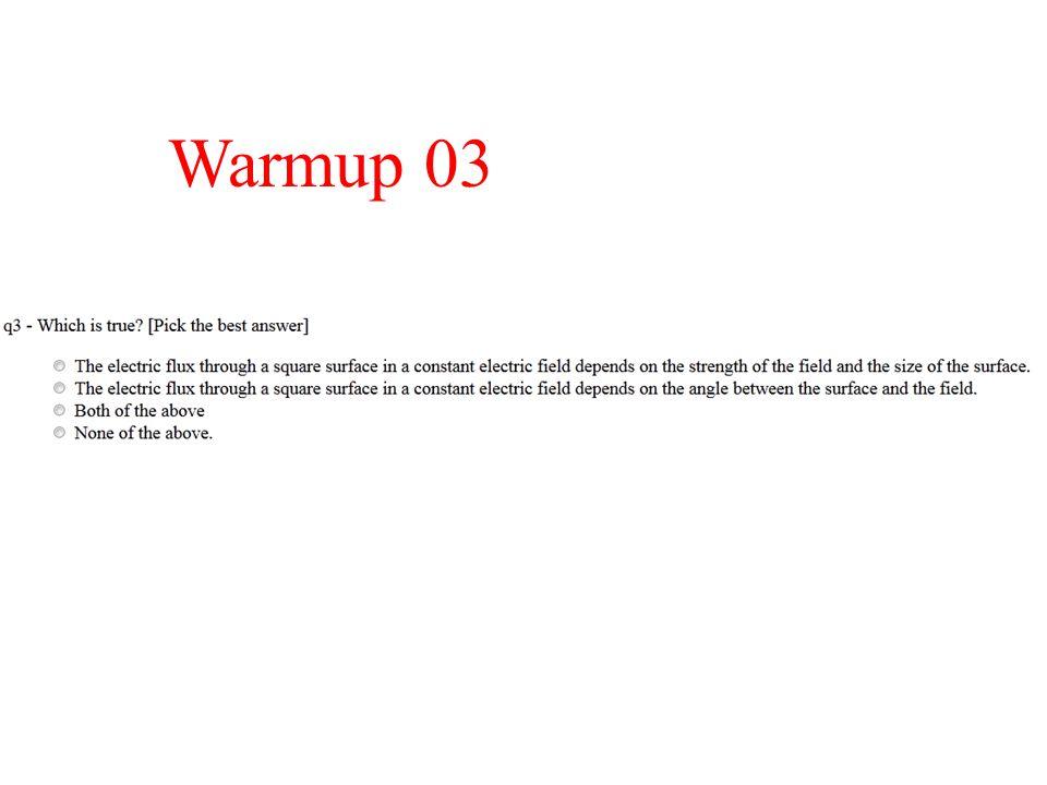 Warmup 03