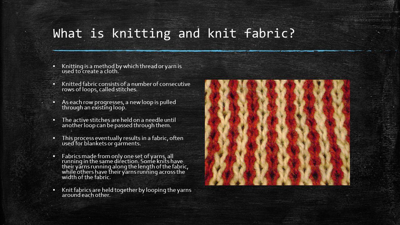 Knitting Fabric Construction : Weft knitting machine single jersey rib & interlock ppt video