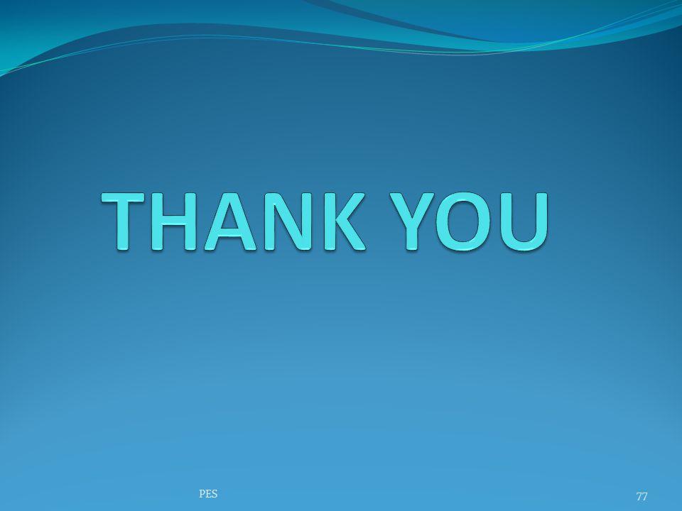 THANK YOU PES