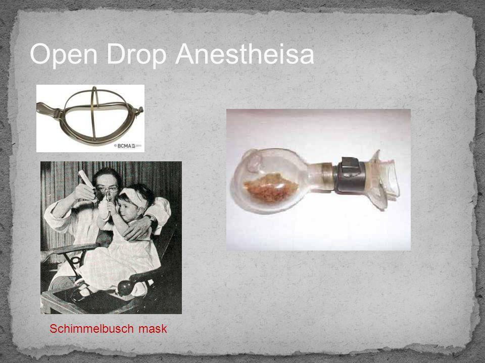 Open Drop Anestheisa Schimmelbusch mask