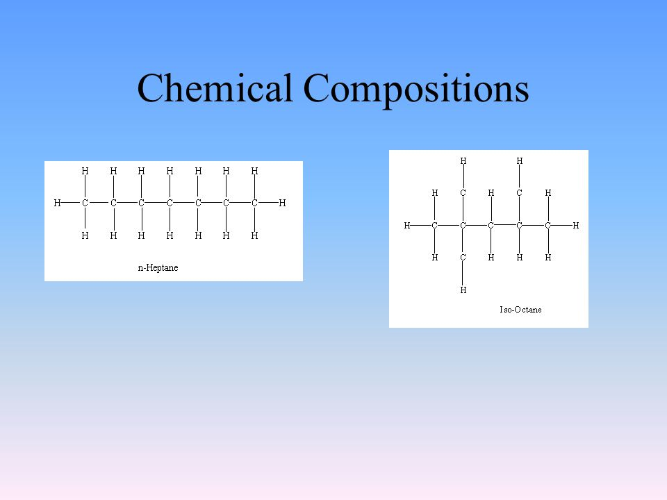 Chemical Compositions