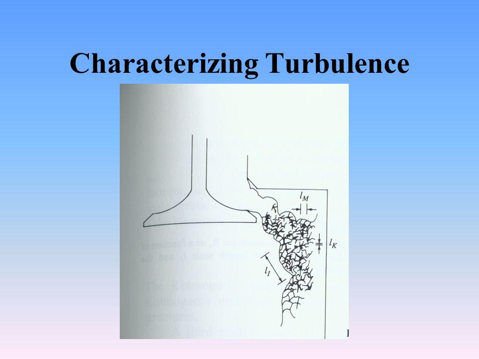 Characterizing Turbulence