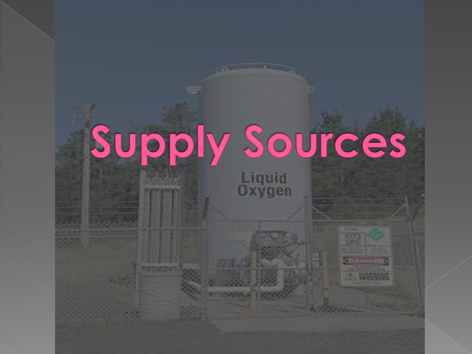 Supply Sources