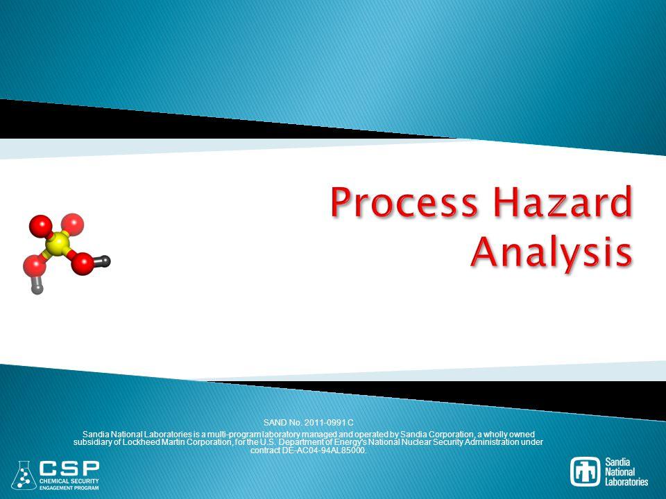 Process Hazard Analysis