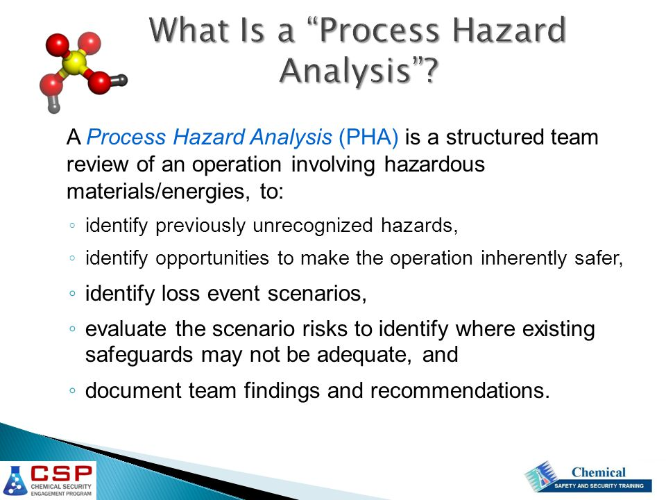 What Is a Process Hazard Analysis