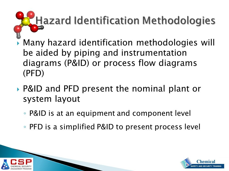 Hazard Identification Methodologies