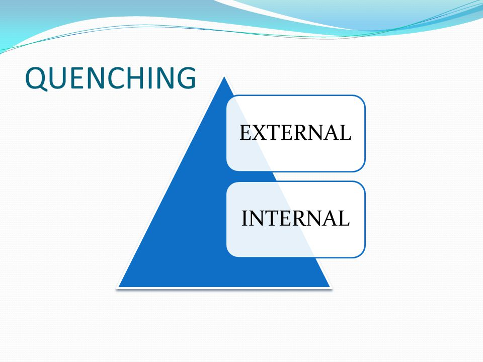 QUENCHING EXTERNAL INTERNAL