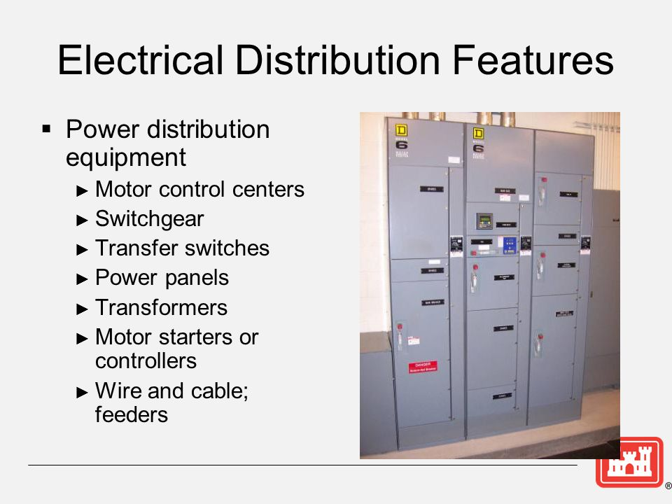 Electrical Distribution Features