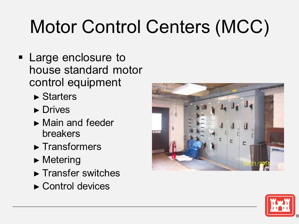 Motor Control Centers (MCC)