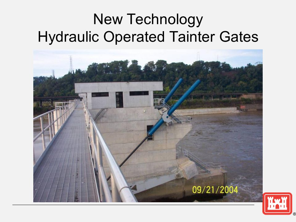 New Technology Hydraulic Operated Tainter Gates