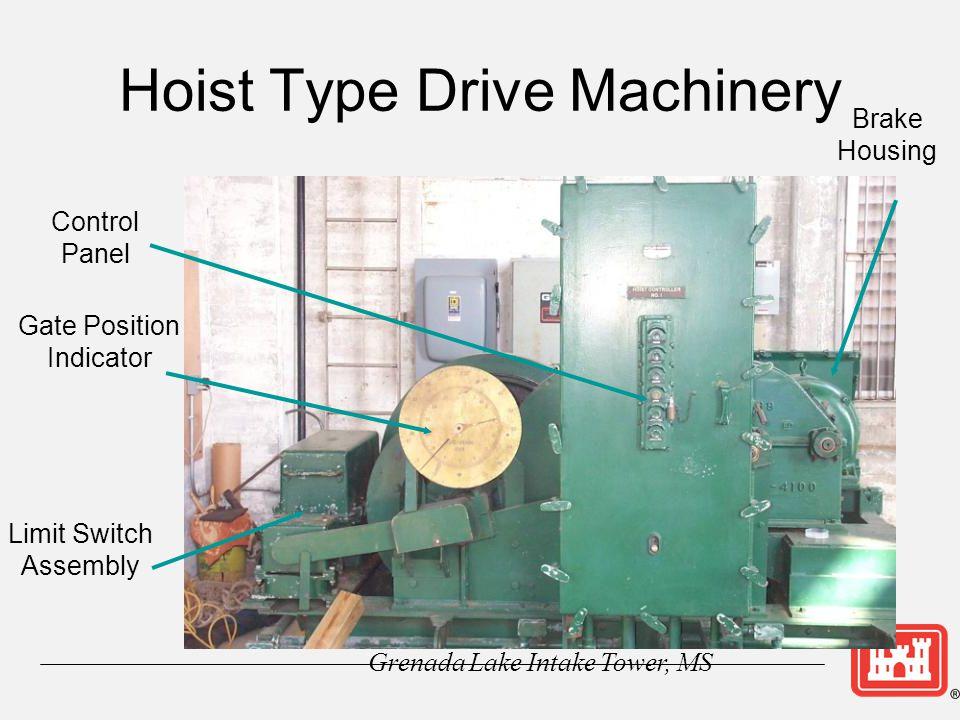 Hoist Type Drive Machinery