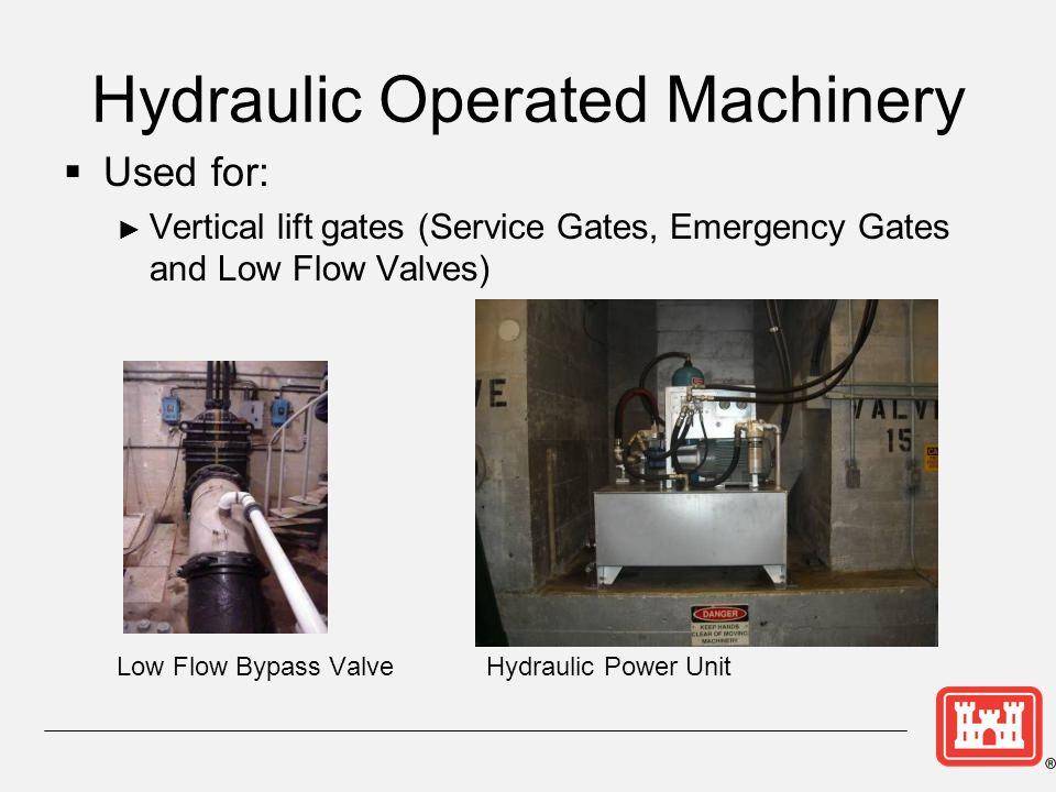 Hydraulic Operated Machinery