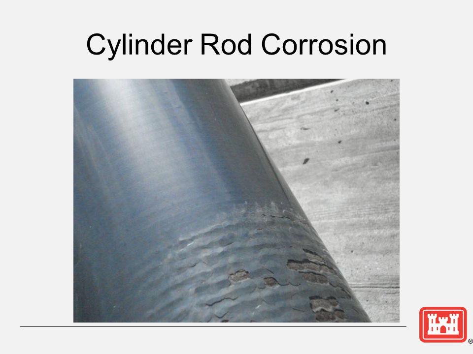 Cylinder Rod Corrosion