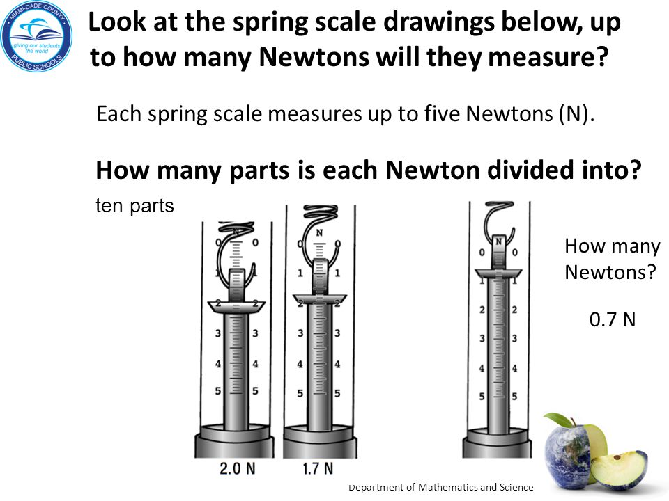 to how many Newtons will they measure