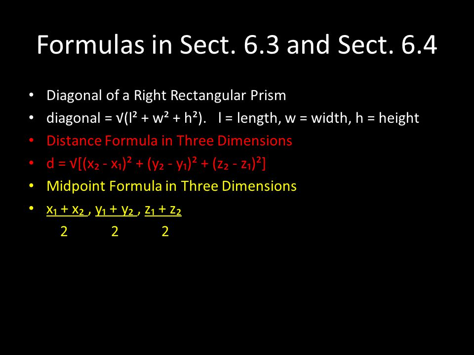 Formulas in Sect. 6.3 and Sect. 6.4