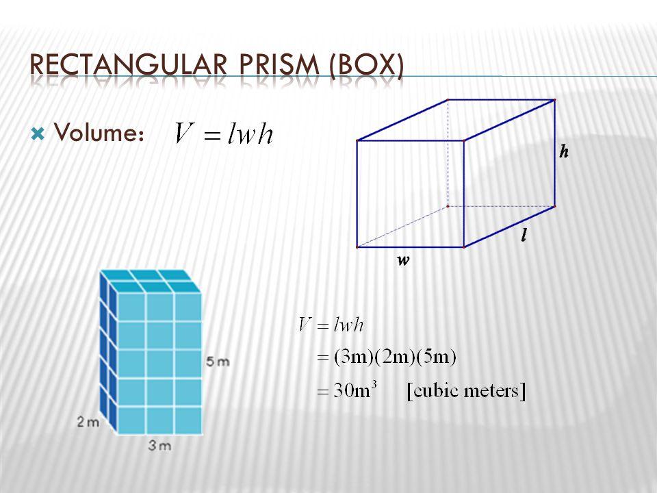 Rectangular Prism (box)