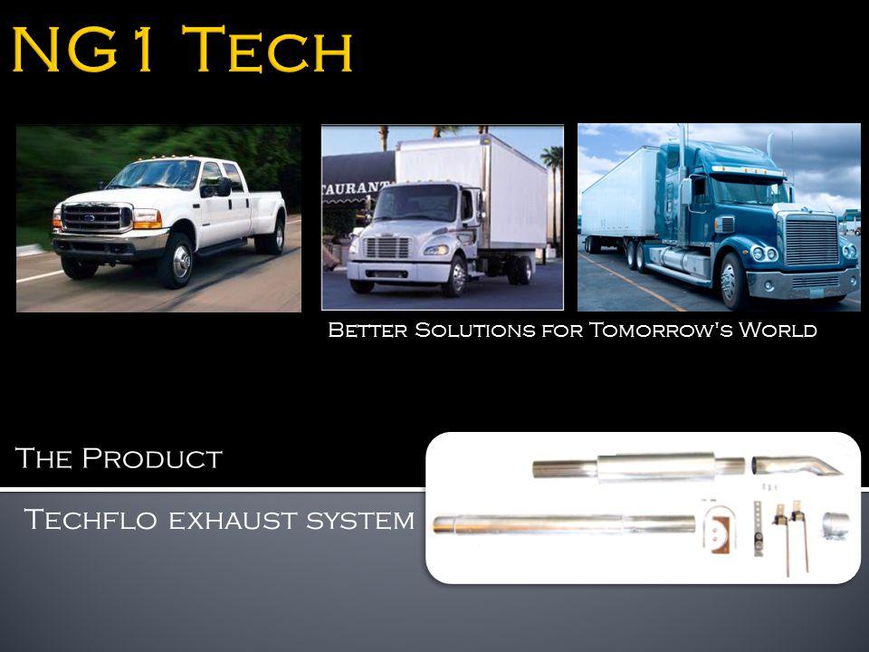 Techflo exhaust system