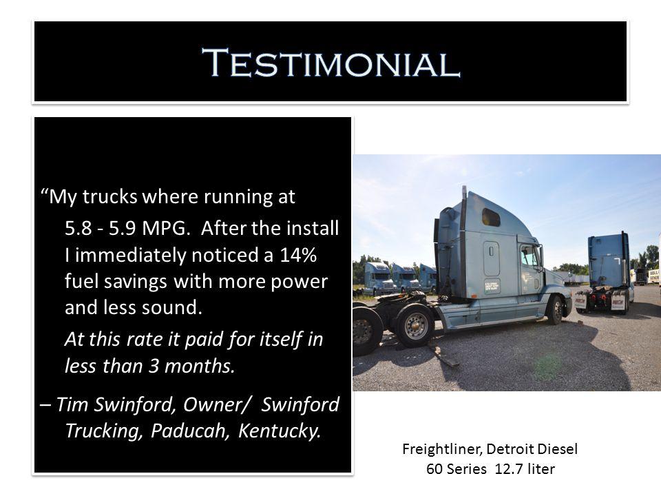 Freightliner, Detroit Diesel