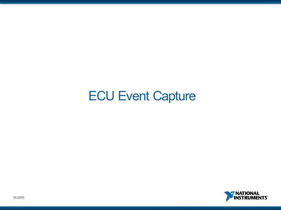 ECU Event Capture