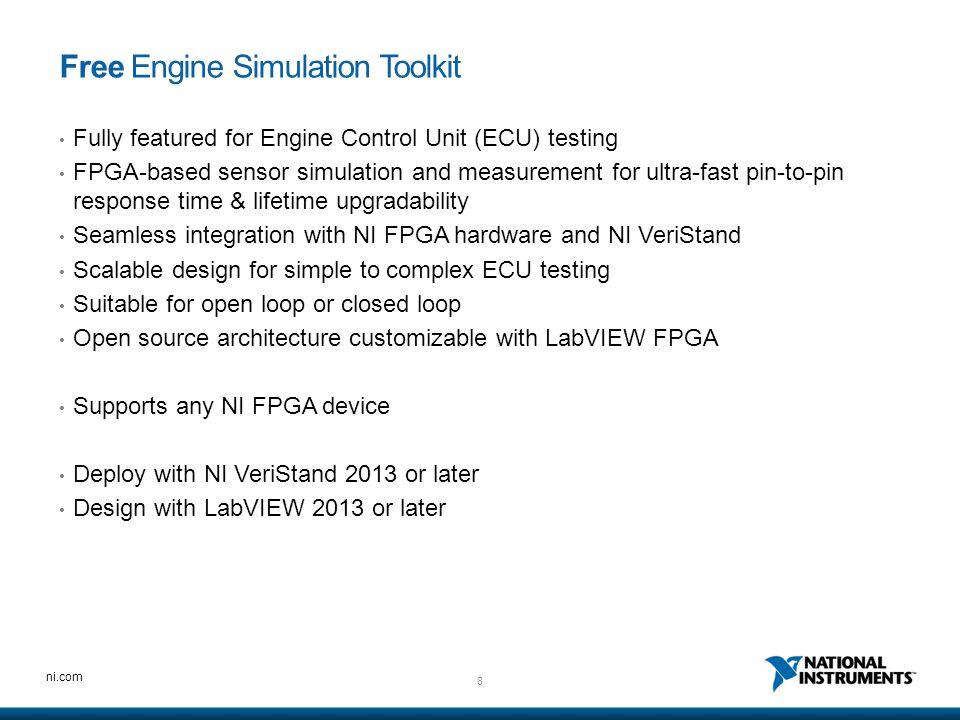 Free Engine Simulation Toolkit