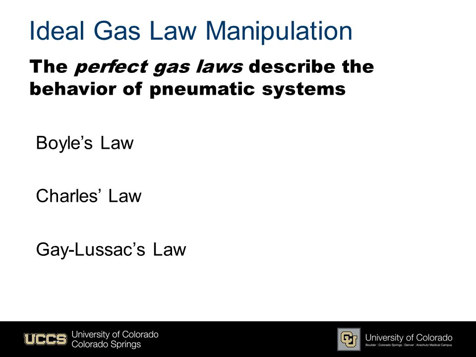 Ideal Gas Law Manipulation