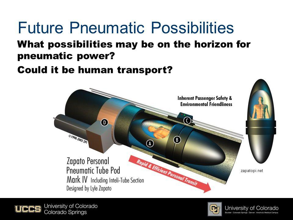Future Pneumatic Possibilities