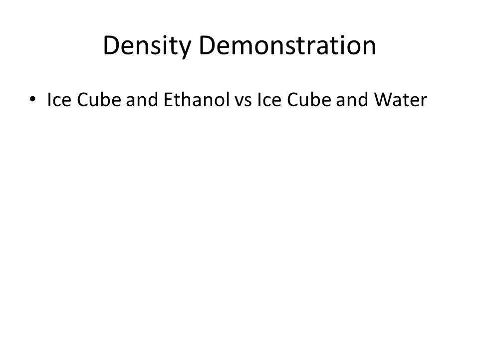 Density Demonstration