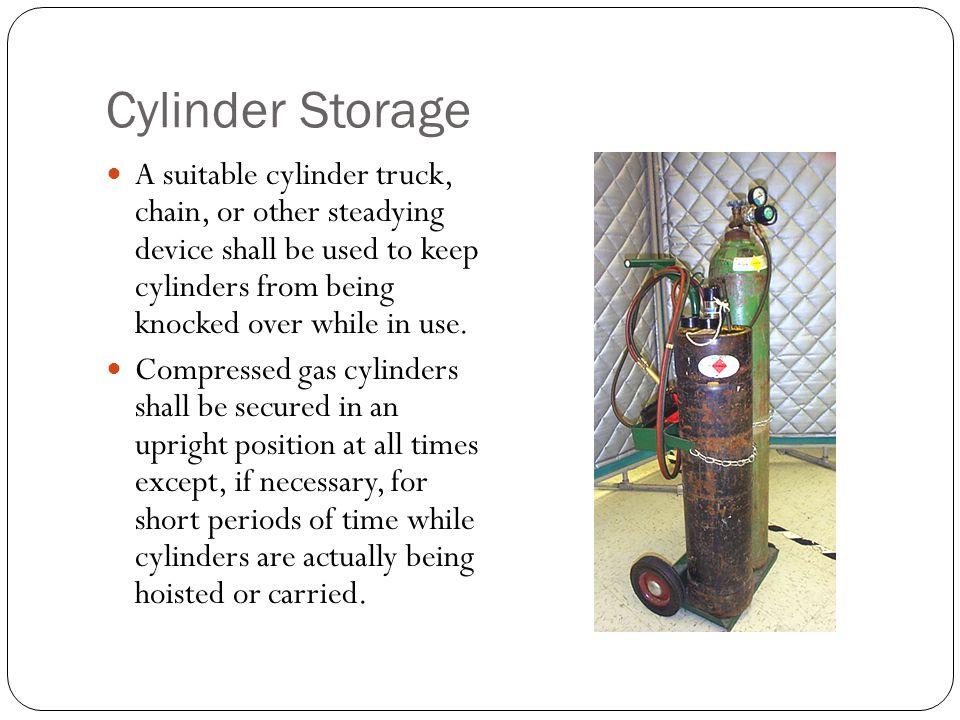 Cylinder Storage