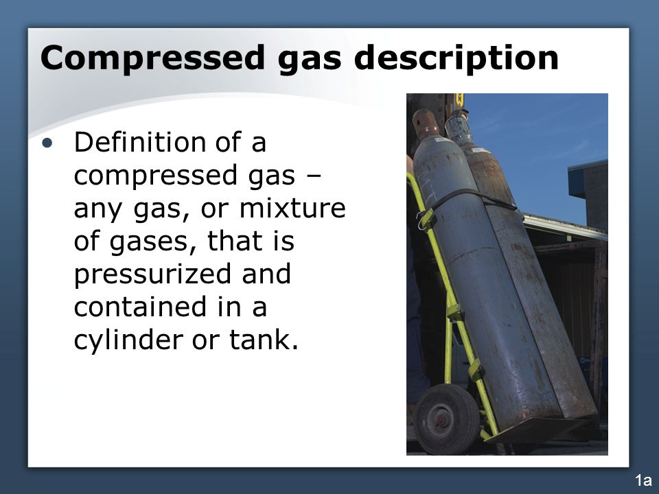 Compressed gas description