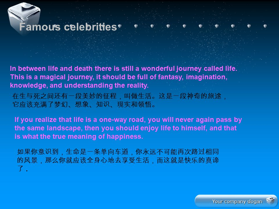 Famous celebrities
