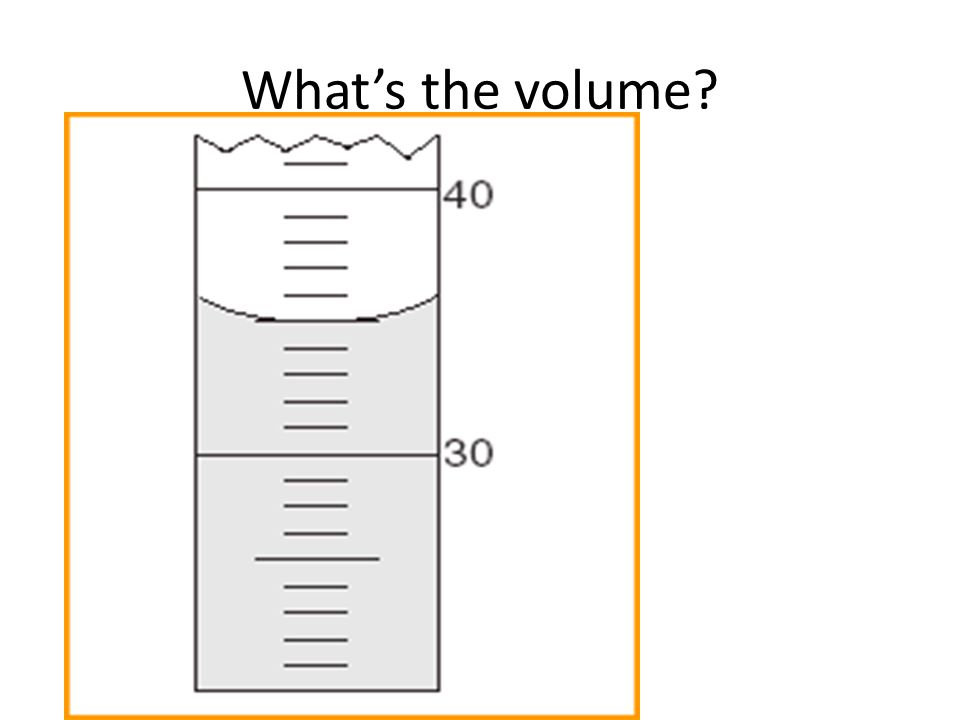 What's the volume
