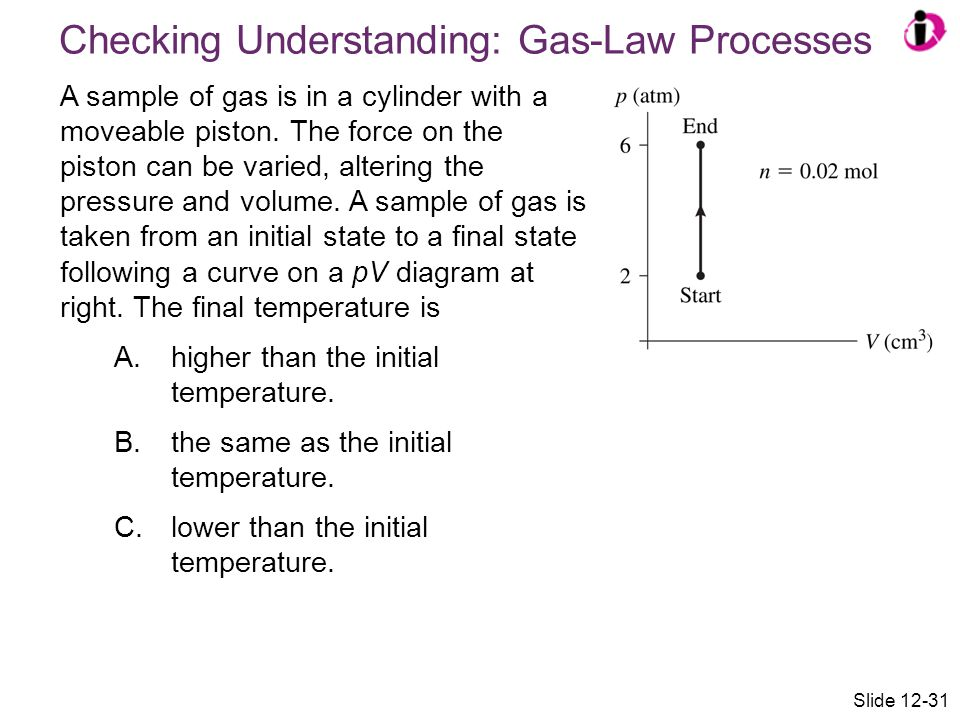 Checking Understanding: Gas-Law Processes