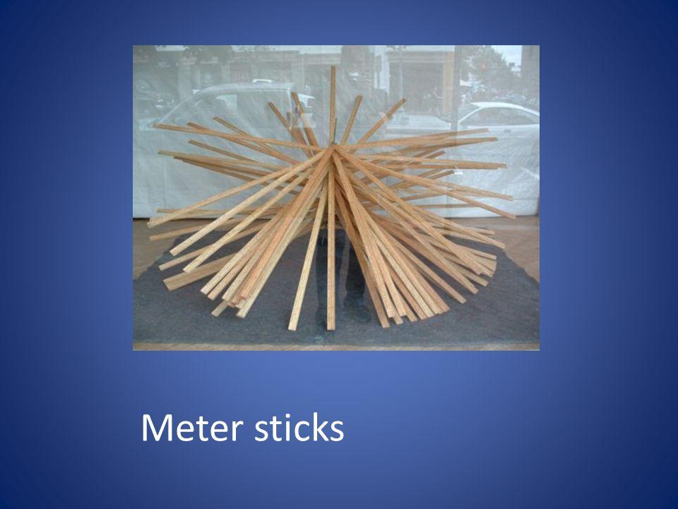 Meter sticks