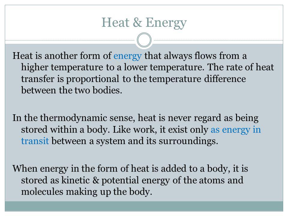 Heat & Energy