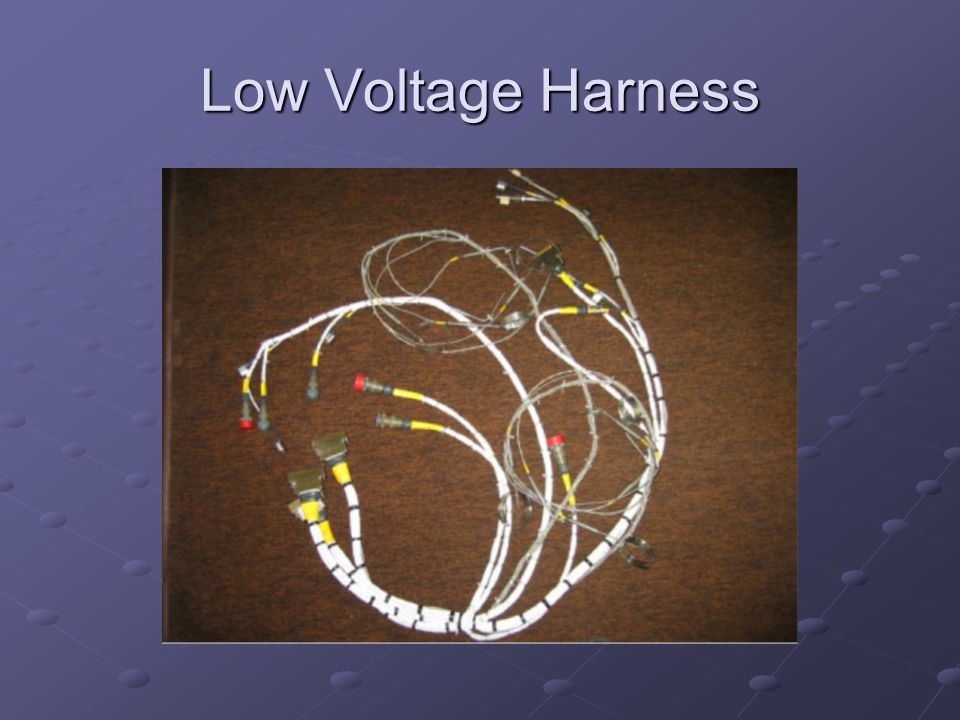Low Voltage Harness