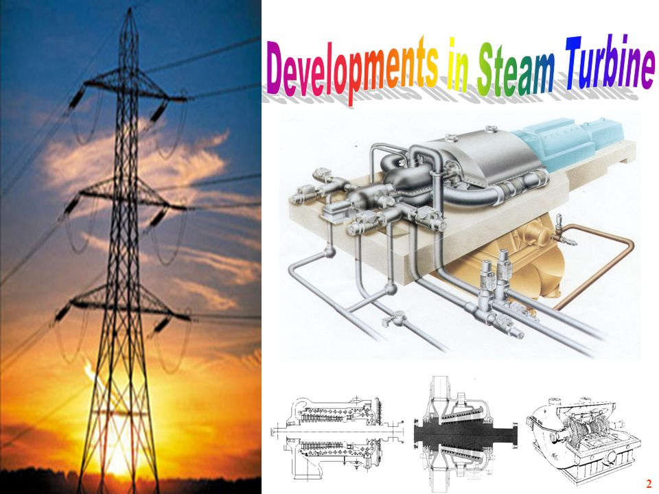 Developments in Steam Turbine