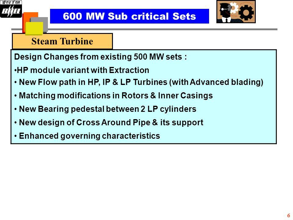 Steam Turbine 600MW Steam Turbine