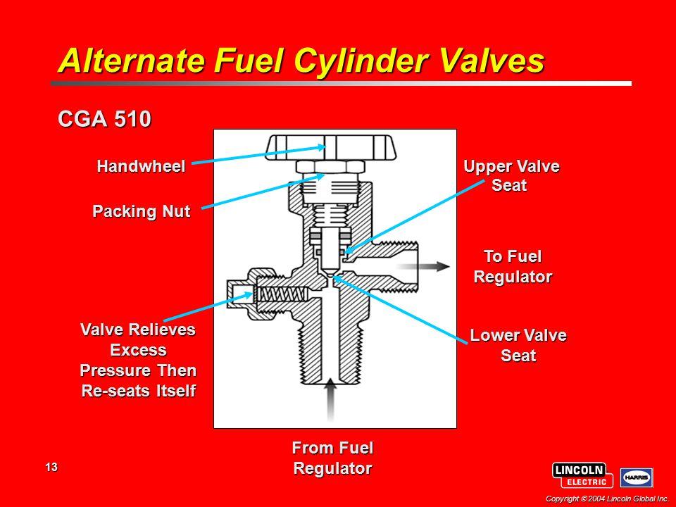 Alternate Fuel Cylinder Valves
