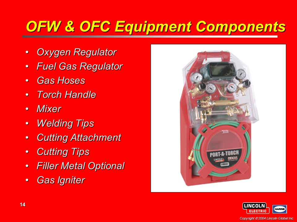 OFW & OFC Equipment Components