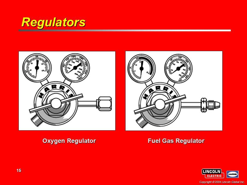 Regulators Oxygen Regulator Fuel Gas Regulator
