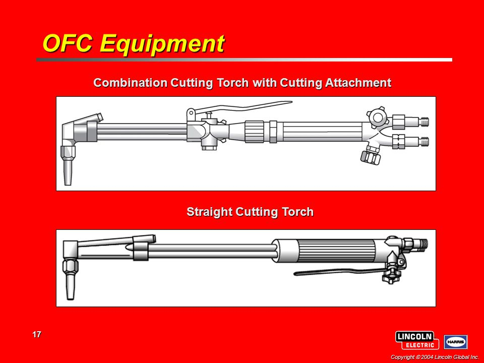 OFC Equipment Combination Cutting Torch with Cutting Attachment