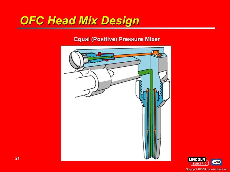 Equal (Positive) Pressure Mixer