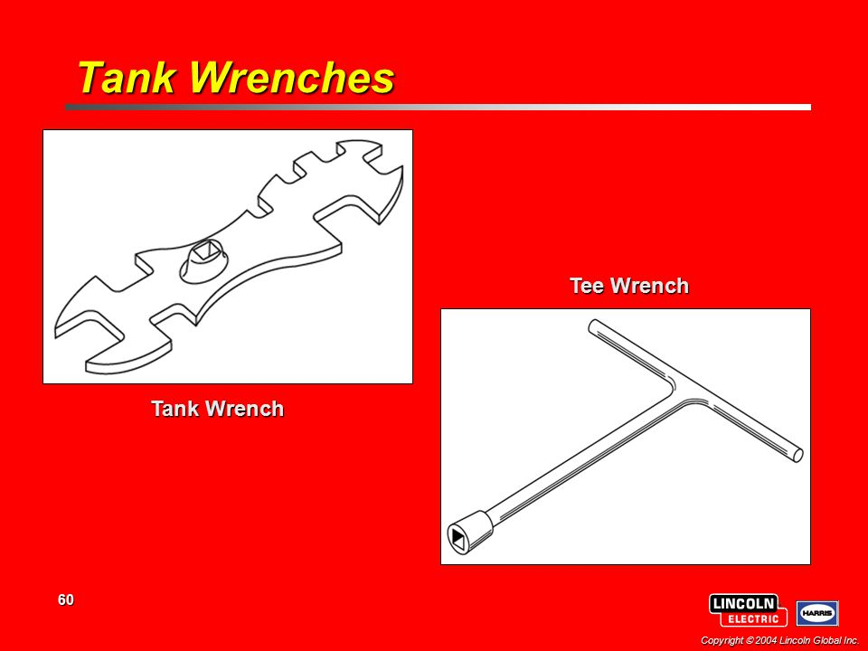 Tank Wrenches Tee Wrench Tank Wrench