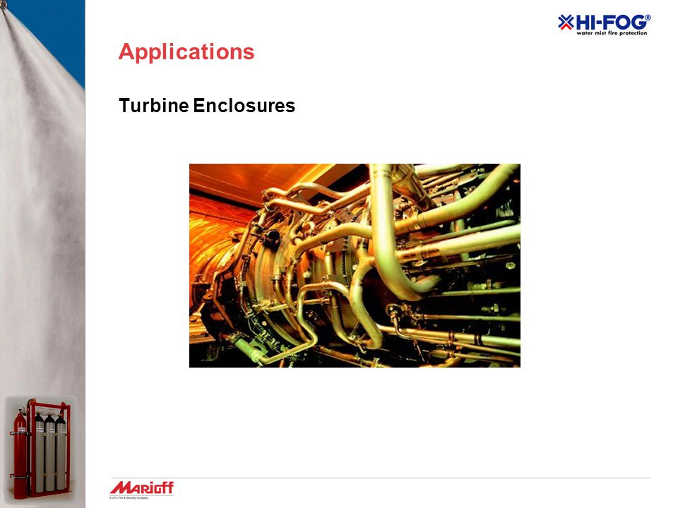 Applications Turbine Enclosures