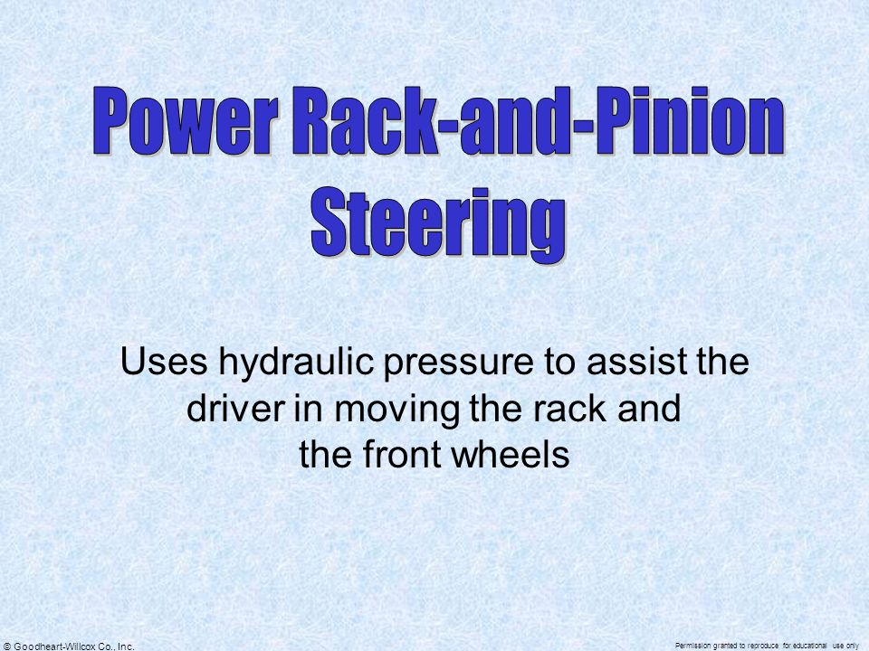Power Rack-and-Pinion