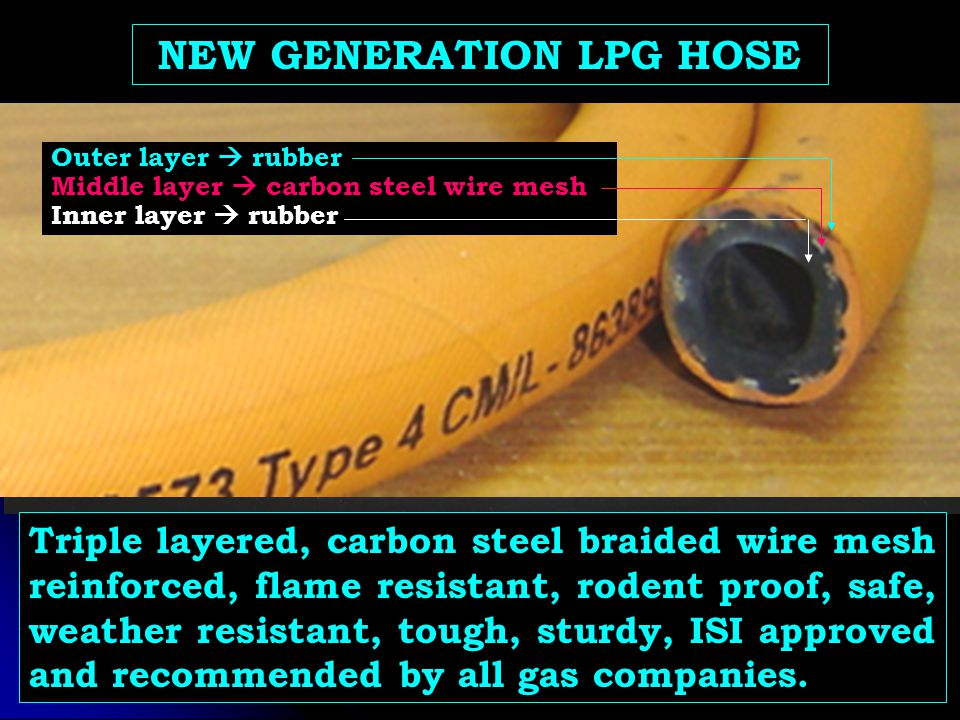 NEW GENERATION LPG HOSE