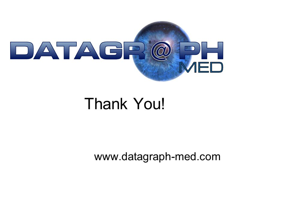 Thank You! www.datagraph-med.com