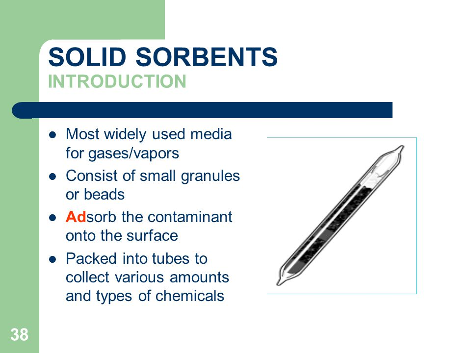 SOLID SORBENTS INTRODUCTION