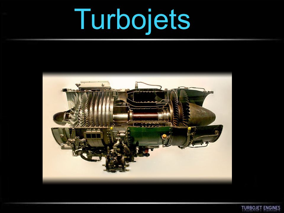 Turbojets
